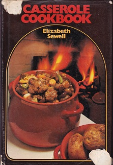 Secondhand Used Book - CASSEROLE COOKBOOK by Elizabeth Sewell