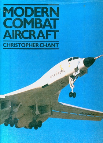 Secondhand Used Book - MODERN COMBAT AIRCRAFT by Christopher Chant