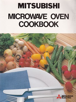 Secondhand Used Book - MITSUBISHI MICROWAVE OVEN COOKBOOK