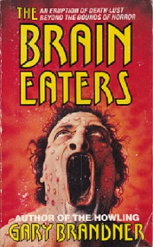 Secondhand Used Book - THE BRAIN EATERS by Gary Brandner