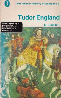 Secondhand Used Book - TUDOR ENGLAND by S.T. Bindoff