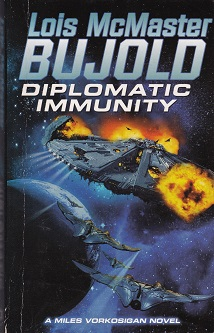 Secondhand Used Book - DIPLOMATIC IMMUNITY by Lois McMaster Bujold