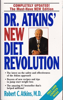 Secondhand Used Book - DR ATKINS' NEW DIET REVOLUTION  by Robert C Atkins MD