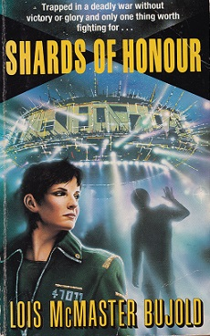 Secondhand Used Book -SHARDS OF HONOUR by Lois McMaster Bujold