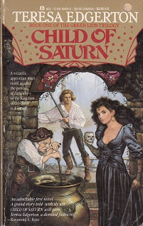 Secondhand Used Book - CHILD OF SATURN by Teresa Edgerton