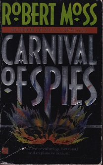 Secondhand Used Book – CARNIVAL OF SPIES by Robert Moss