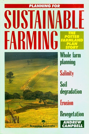 Secondhand Used Book - PLANNING FOR SUSTAINABLE FARMING by Andrew Campbell