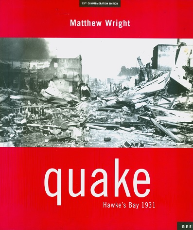 Secondhand Used Book - QUAKE by Matthew Wright
