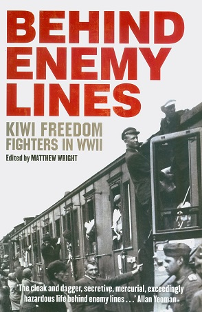 Secondhand Used Book - BEHIND ENEMY LINES edited by Matthew Wright