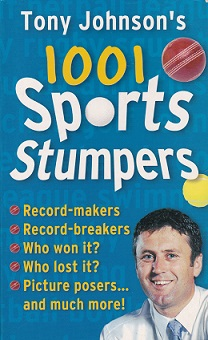 Secondhand Used book - TONY JOHNSON'S 1001 SPORTS STUMPERS