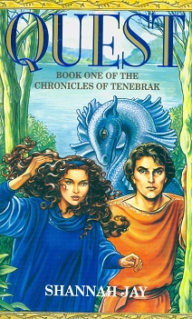 Secondhand Used Book - QUEST BOOK ONE OF THE CHRONICLES OF TENEBRAK by Shannah Jay