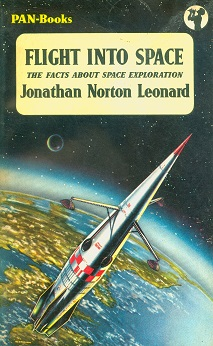 Secondhand Used Book - FLIGHT INTO SPACE by Jonathan Norton Leonard