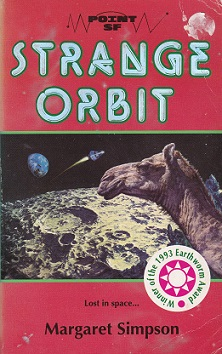 Secondhand Used Book - STRANGE ORBIT by Margaret Simpson