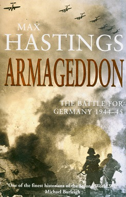 Secondhand Used Book - ARMAGEDDON by Max Hastings