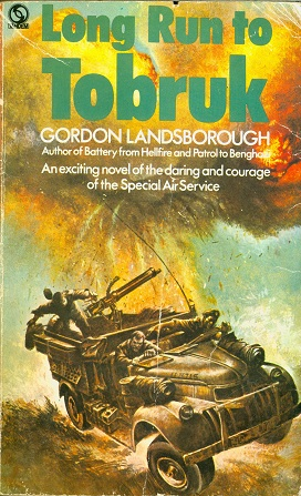 Secondhand Used Book - LONG RUN TO TOBRUK by Gordon Lansborough