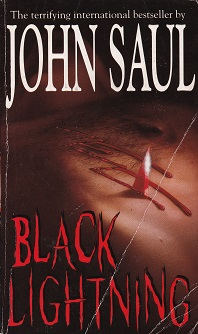Secondhand Used Book - BLACK LIGHTNING by John Saul