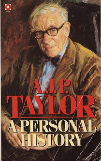 Secondhand Used Book – A PERSONAL HISTORY by AJP Taylor