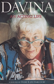 Secondhand Used Book – DAVINA: AN ACTING LIFE by Davina Whitehouse