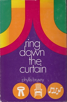 Secondhand Used Book – RING DOWN THE CURTAIN by Phyllis Brusey
