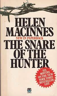 Secondhand Used Book – THE SNARE OF THE HUNTER by Helen MacInnes