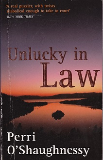 Secondhand Used Book – UNLUCKY IN LAW by Perri O'Shaughnessy