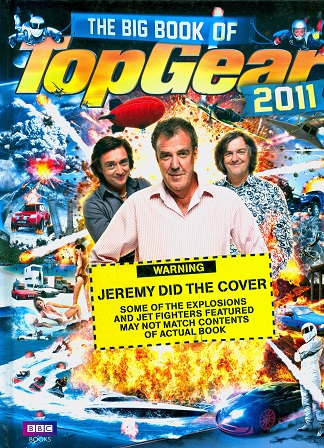 Secondhand Used Book - THE BIG BOOK OF TOP GEAR 2011