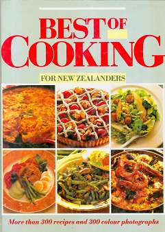 Secondhand Used Book - BEST OF COOKING FOR NEW ZEALANDERS
