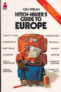 Secondhand Used Book - HITCH-HIKER'S GUIDE TO EUROPE by Ken Welsh