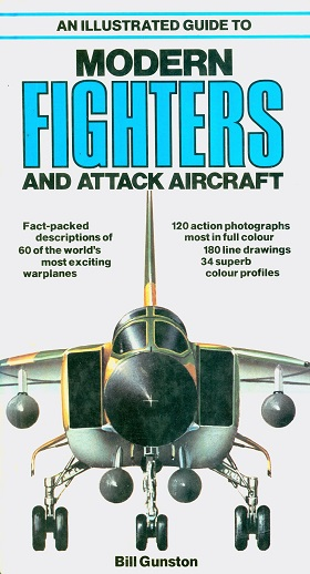 Secondhand Used Book - AN ILLUSTRATED GUIDE TO MODERN FIGHTERS AND ATTACK AIRCRAFT