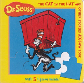 Secondhand Used Book - DR SEUSS THE CAT IN THE HAT AND OTHER STORIES JIGSAW BOOK