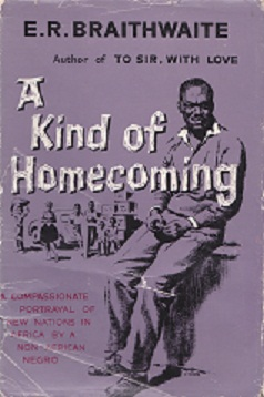 Secondhand Used Book - A KIND OF HOMECOMING by E R Braithwaite