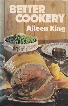 Secondhand Used Book - BETTER COOKERY by Aileen King