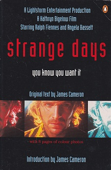 Secondhand Used Book - STRANGE DAYS by James Cameron