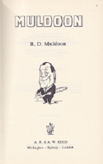 Secondhand Used Book - MULDOON by R D Muldoon