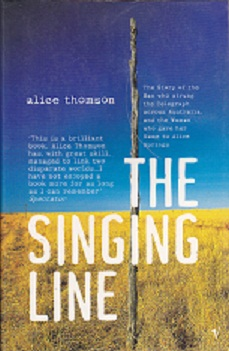 Secondhand Used Book - THE SINGING LINE by Alice Thomson