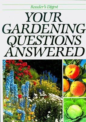 Secondhand Used Book - READER'S DIGEST: YOUR GARDENING QUESTIONS ANSWERED