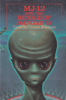Secondhand Used Book - MJ-12 AND THE RIDDLE OF HANGAR 18 by Timothy Green Beckley