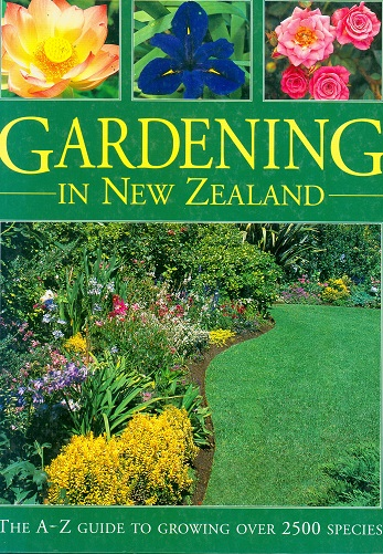 Secondhand Used Book - GARDENING IN NEW ZEALAND