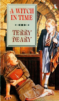 Secondhand Used Book - A WITCH IN TIME by Terry Deary