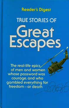 Secondhand Used book - Reader's Digest True Stories of Great Escapes