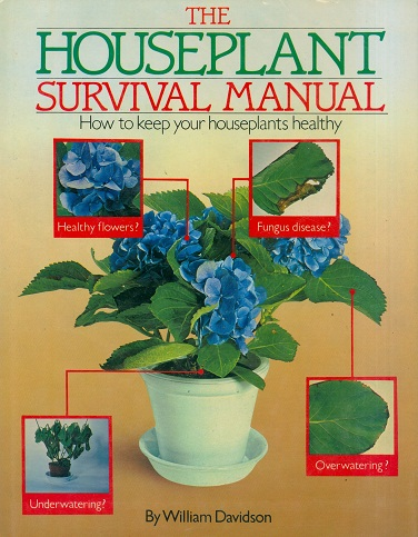 Secondhand Used book - THE HOUSEPLANT SURVIVAL MANUAL by William Davidson