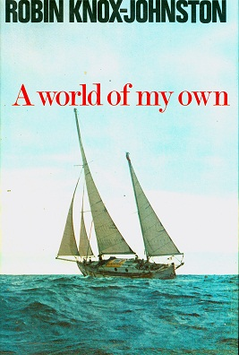 Secondhand Used book - A WORLD OF MY OWN by Robin Knox-Johnston