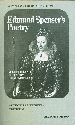 Secondhand Used book - EDMUND SPENSER'S POETRY selected and edited by Hugh MacLean