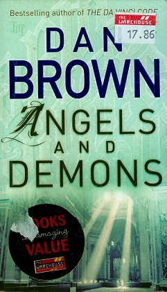 Secondhand Used book - ANGELS AND DEMONS by Dan Brown
