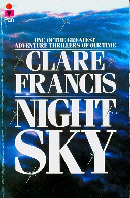 Secondhand Used book - NIGHT SKY by Clare Francis
