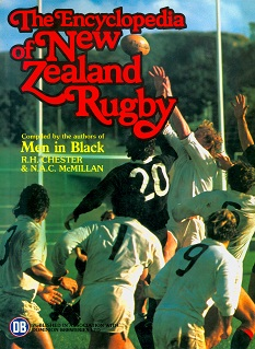 Secondhand Used Book - THE ENCYCLOPEDIA OF NEW ZEALAND RUGBY by R H Chester and NAC McMillan