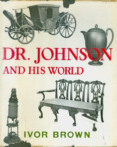 Secondhand Used Book - DR JOHNSON AND HIS WORLD by Ivor Brown