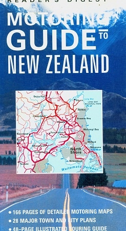 Secondhand Used Book - READER'S DIGEST MOTORING GUIDE TO NEW ZEALAND