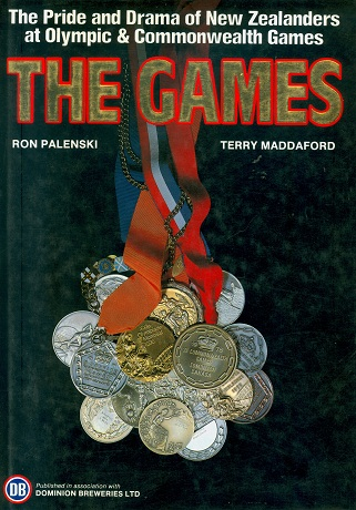 Secondhand Used Book - THE GAMES by Ron Palenski and Terry Maddaford