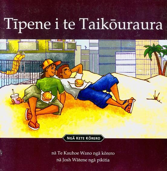 Secondhand Used Book - TIPENE I TE TAKOURAURA by Te Kauhoe Wano
